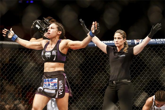 Camila Albuquerque intermediou luta entre Reneau e Andrade. Foto: Inovafoto