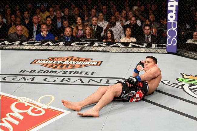 Em sua última luta, Diaz perdeu para A. Silva. Foto: Divulgação/UFC