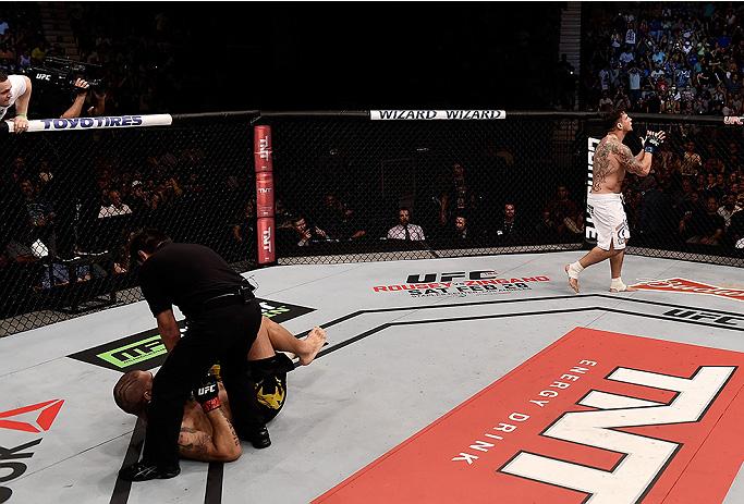 Mir nocauteou Pezão em Porto Alegre. Foto: Divulgação/UFC