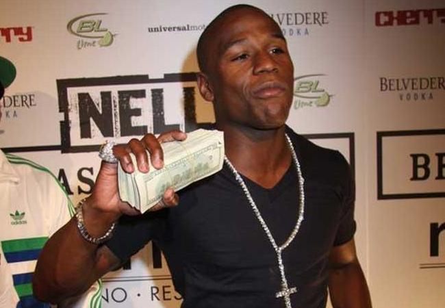 Mayweather é o esportista mais bem pago do mundo. Foto: Divulgação