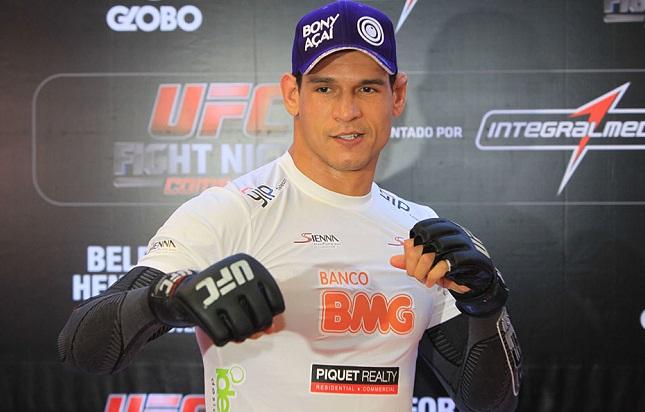 C. Mutante (foto) vive fase complicada no UFC. Foto: Josh Hedges/UFC