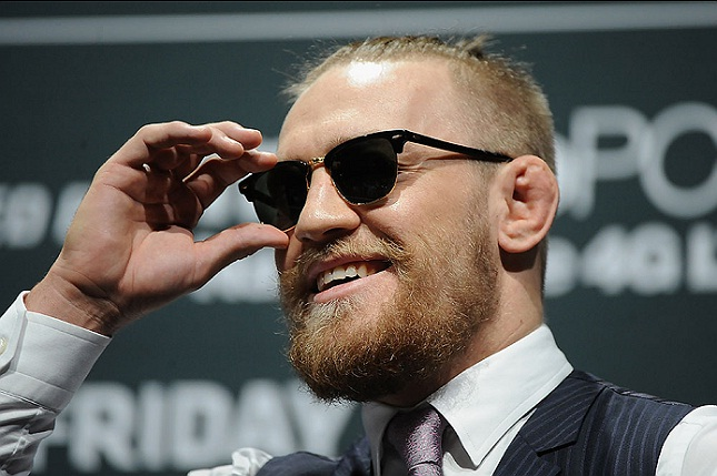 C. McGregor (foto) recebeu o maior salário do UFC 194. Foto: Josh Hedges/UFC