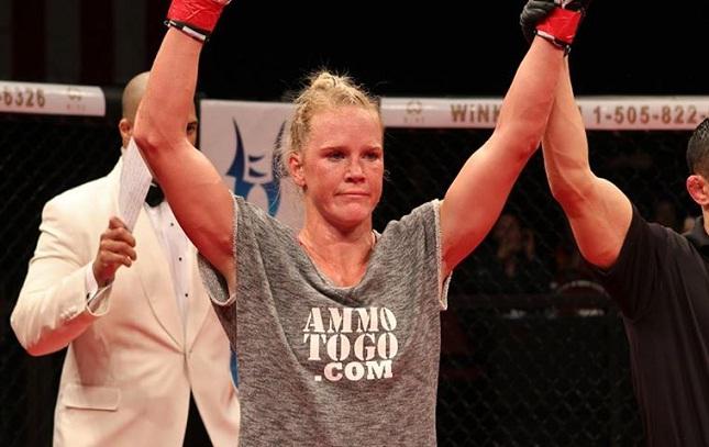 H. Holm (foto) vem de duas vitórias no UFC. Foto: Reprodução