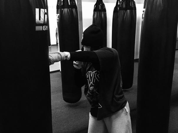 Lady Gaga treina em academia oficial do UFC. Foto: Reprodução