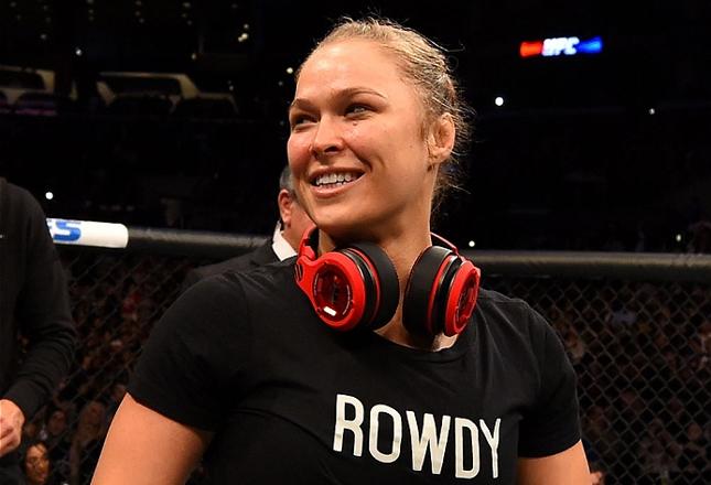Ronda (foto) é amiga pessoal de Manny Pacquiao. Foto: Josh Hedges/UFC