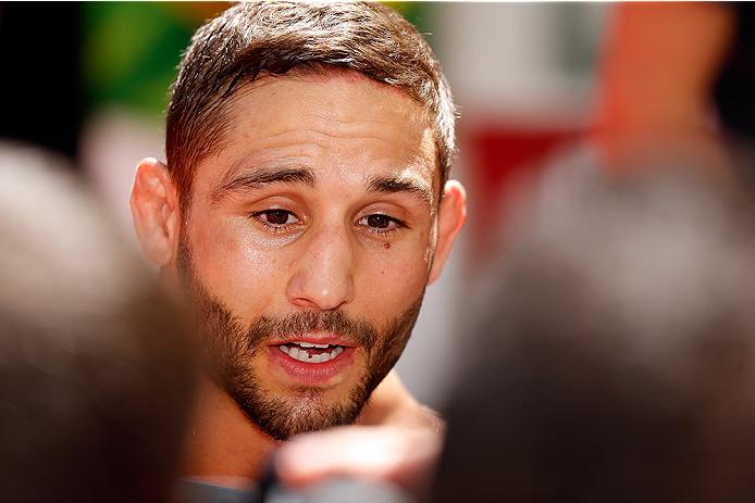 Mendes (foto) perdeu para McGregor em julho. Foto: Josh Hedges/Zuffa LLC