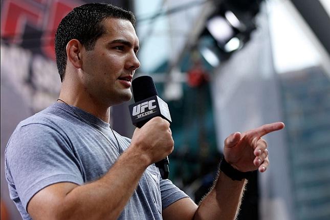 C. Weidman (foto) respondeu o desafio de Rockhold. Foto: Josh Hedges/UFC