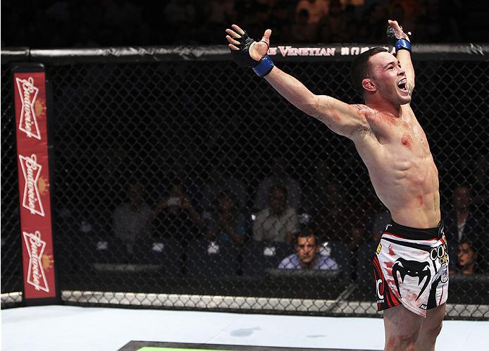 Covington (foto) criticou seu ex-colega de quarto Jones. Foto: Divulgação/UFC