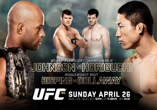 UFC 186 acontece neste sábado (25) em Montreal. Foto: Divulgação