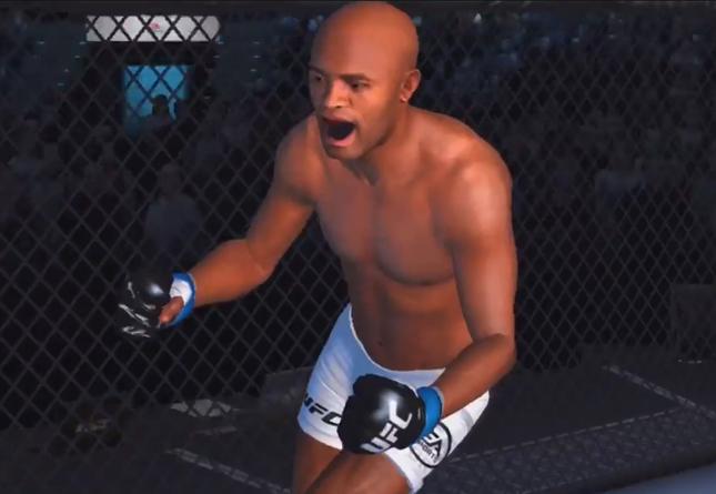 Anderson (foto) é um dos destaques do EA Sports UFC para dispositivos móveis. Foto: Reprodução