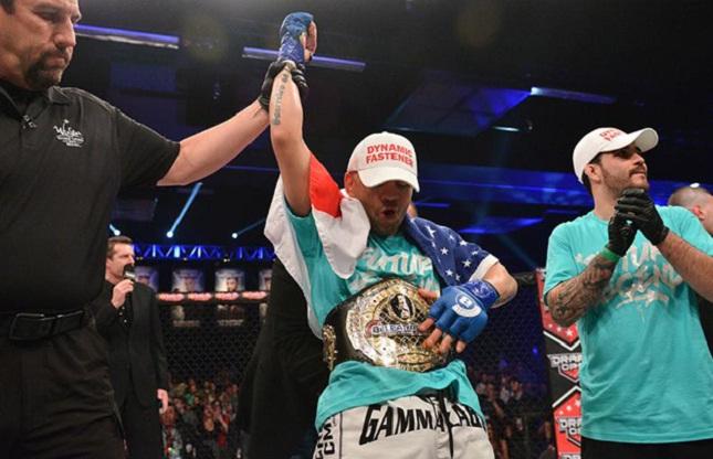 Loro (foto) ganhou o cinturão do Bellator em março. Foto: Divulgação