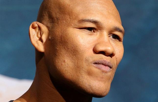 Jacaré (foto) provocou o campeão Bisping. Foto: Josh Hedges/UFC