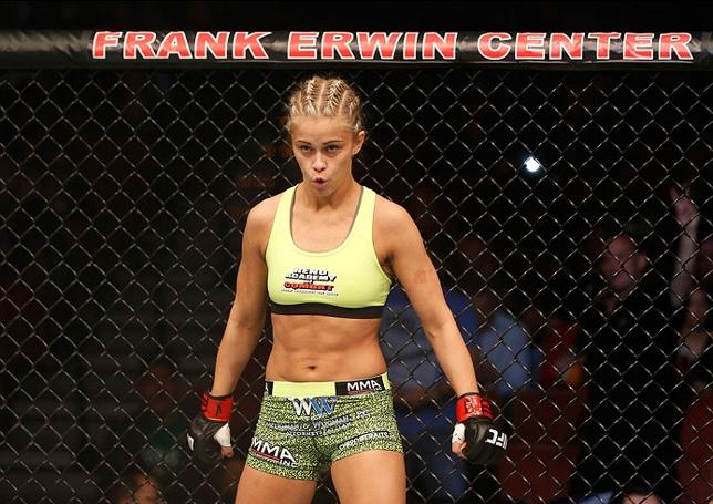 VanZant (foto) levou a melhor sobre F. Herrig na luta que abriu o card principal. Foto: Josh Hedges/UFC