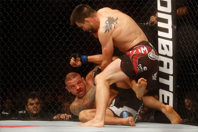 Condit derrotou Pitbull na luta principal do UFC em Goiânia. Foto: Inovafoto
