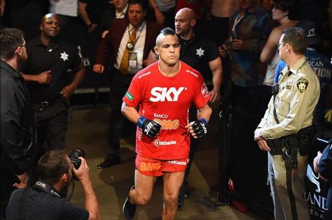 Belfort (foto) acabou derrotado por Weidman no UFC 187. Foto: Divulgação/UFC