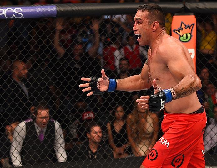 Werdum (foto) comemora vitória sobre Velasquez no UFC 188. Foto: Divulgação/UFC