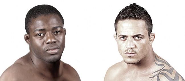 F. Açougueiro (esq.) e R. Vieira (dir.) garantiram as últimas vagas nas finais do TUF Brasil 4. Foto: UFC