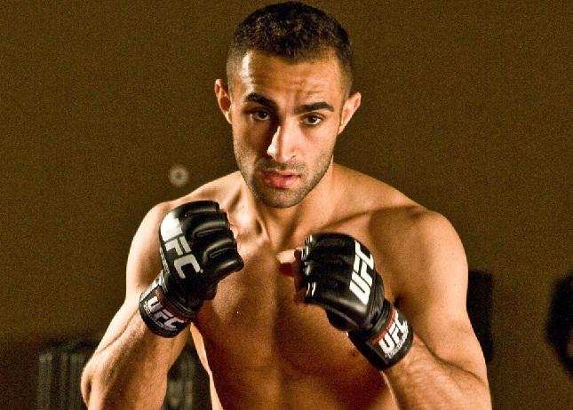 A. Omer (foto) foi escalado às pressas para o UFC Berlim. Foto: Reprodução/Facebook