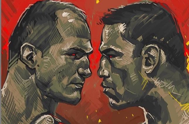 Arte publicada por Cigano foi enviada por fã e ilustrador russo. Foto: Reprodução/Instagram
