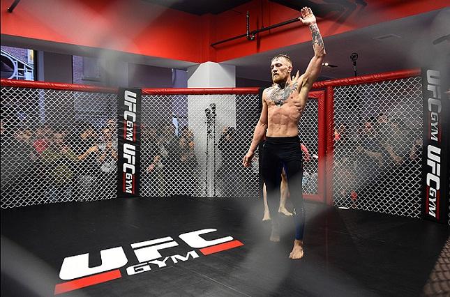 McGregor (foto) por enquanto é o único nome 100% garantido na luta principal do UFC 189. Foto: Josh Hedges/UFC