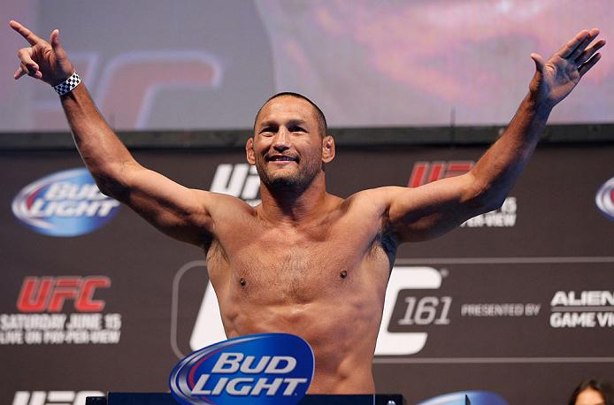 Veterano Henderson fará luta principal do UFC FN 68. Foto: Josh Hedges/Zuffa LLC