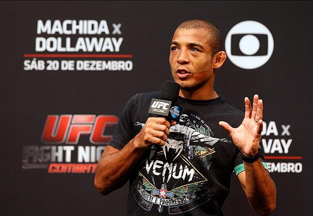 J. Aldo está escalado para enfrentar McGregor no UFC 189. Foto: Josh Hedges/UFC