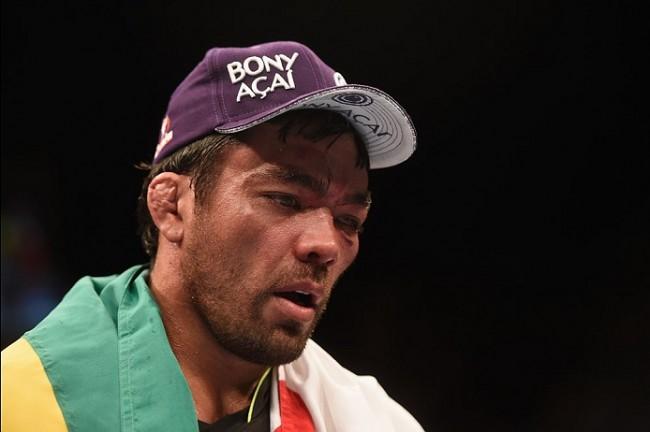 Lyoto (foto): mesmo derrotado, brasileiro foi o mais bem pago do UFC FN 70. Foto: Josh Hedges/UFC