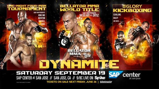 Bellator Dynamite terá um supercard. Foto: Divulgação