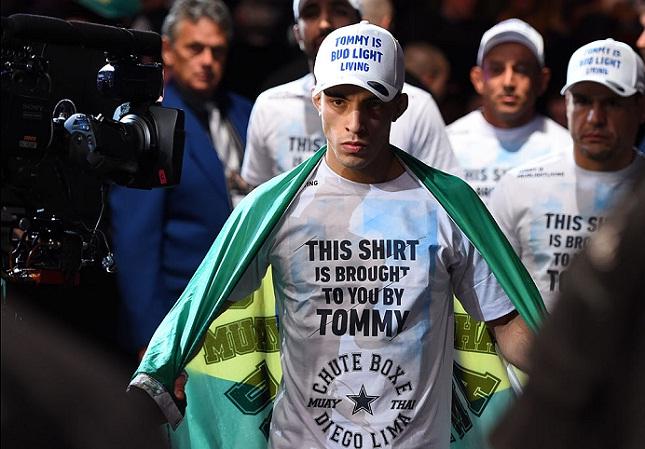 Thominhas (foto) fará sua terceira luta no Ultimate. Foto: Josh Hedges/UFC