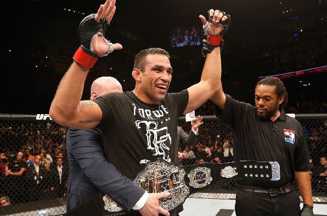 F. Werdum é o novo campeão linear dos pesos pesados. Foto: Josh Hedges/UFC