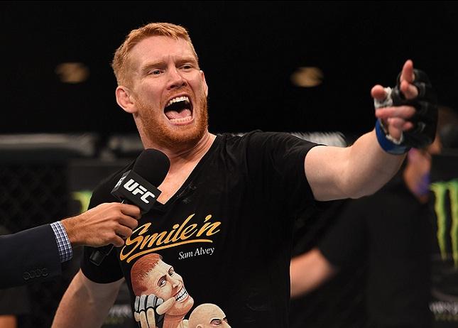 S. Alvey (foto) se incluiu no seleto grupo de atletas que não estão sob efeito de esteroides. Foto: Josh Hedges/UFC