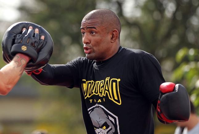 Serginho (foto) faria sua segunda luta consecutiva após um longo tempo lesionado. Foto: Josh Hedges/UFC