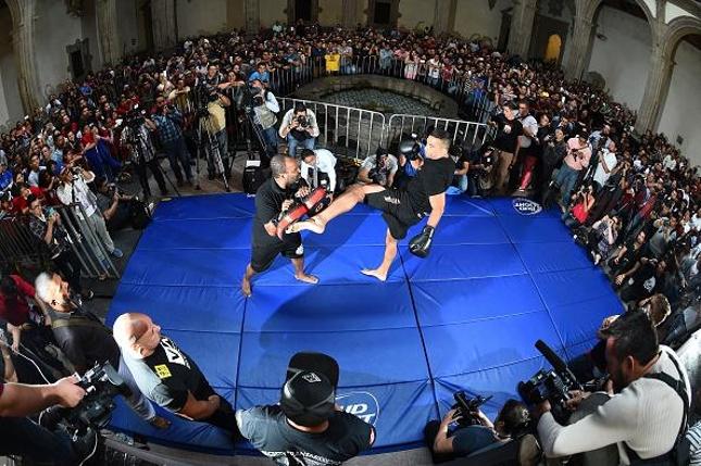 F. Werdum foi um dos protagonistas do evento na Cidade do México. Foto: Reprodução/Twitter