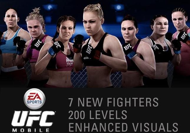 Pacote de novas lutadoras foi anunciado por UFC e Eletronic Arts nas redes sociais. Foto: Reprodução/Twitter