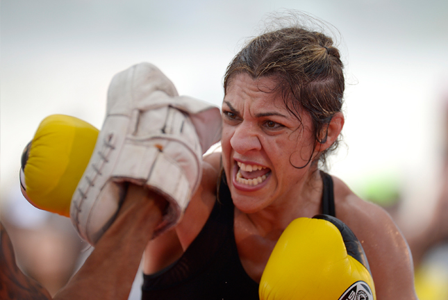 Bethe (foto) voltou a criticar Rousey. Foto: Inovafoto