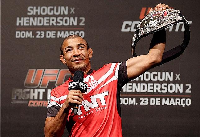 Aldo (foto) encara McGregor em dezembro. Foto: Josh Hedges/UFC