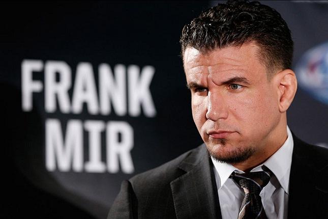 F. Mir (foto) foi o maior rival de Lesnar no UFC. Foto: Josh Hedges/UFC