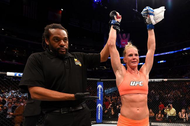 Holm venceu mais uma no UFC. Foto: Divulgação