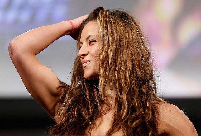 M. Tate (foto) voltará ao octógono em 25/07. Foto: Josh Hedges/UFC