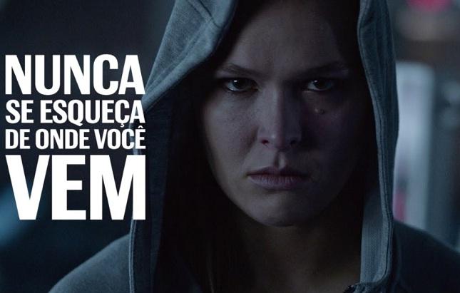 Queridinha das câmeras, Ronda está em nova campanha publicitária. Foto: Reprodução