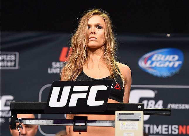 Ronda (foto) fez a luta principal do UFC 190. Foto: Josh Hedges/UFC