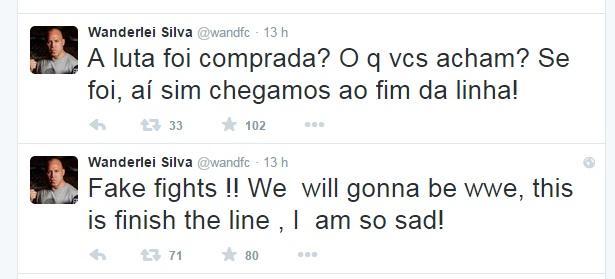 Wanderlei Silva Twitter
