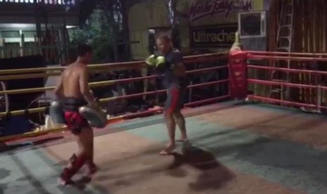 GSP (dir.) não luta MMA desde novembro de 2013. Foto: Reprodução