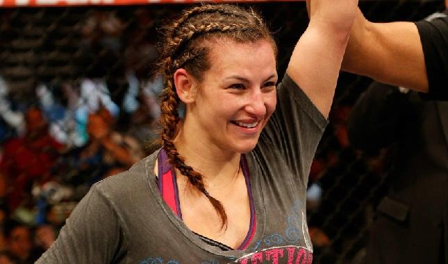 Miesha (foto) faturou sua quarta vitória consecutiva no octógono. Foto: Josh Hedges/UFC
