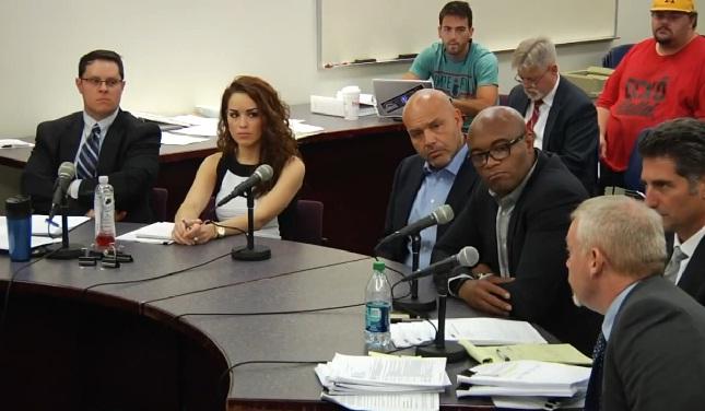 Julgamento de A. Silva teve momentos surreais. Foto: Reprodução