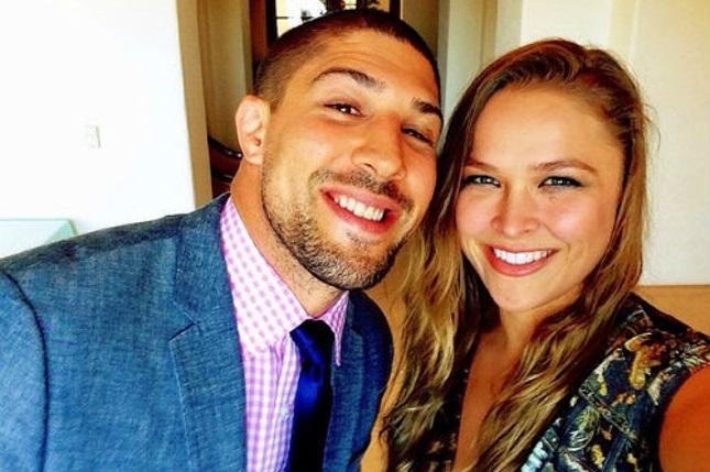 Schaub (esq.) e Ronda (dir.), peso pesado do UFC lavou a roupa suja em público. Foto: Reprodução