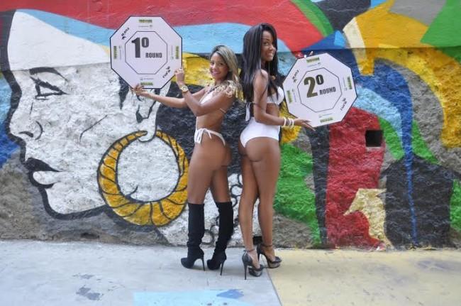 Homem escolhido se juntará às duas ring girls já eleitas. Foto: Divulgação