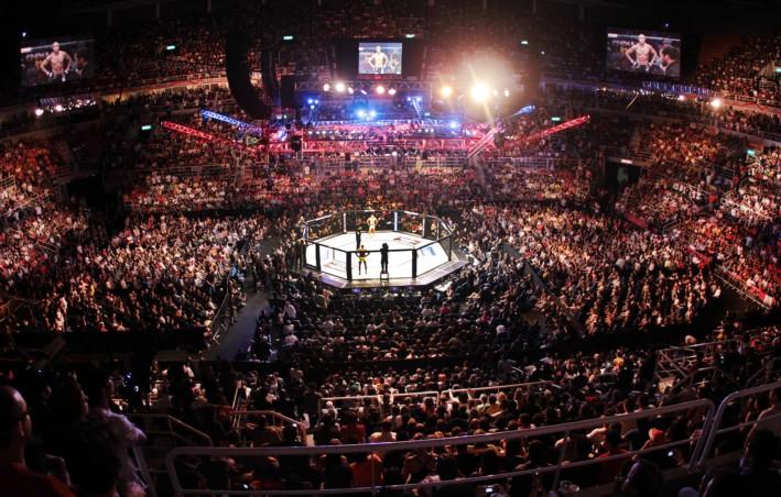 UFC começa o primeiro dos três eventos da semana. Foto: Divulgação