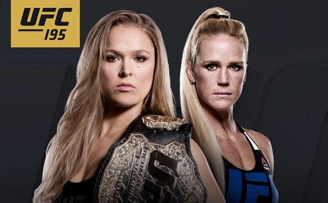 Luta entre Ronda e Holm acontecerá em Las Vegas (EUA). Foto: Reprodução