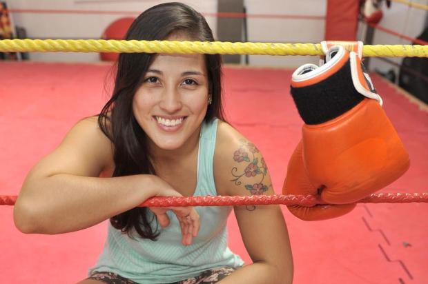 Kinberly Novaes viveu situação inusitada no MMA. Foto: Reprodução